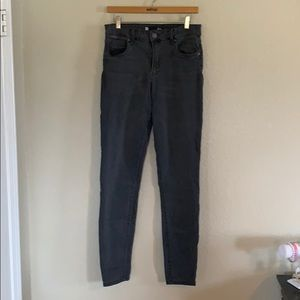 Kut from the kloth size 10 grey skinny jeans